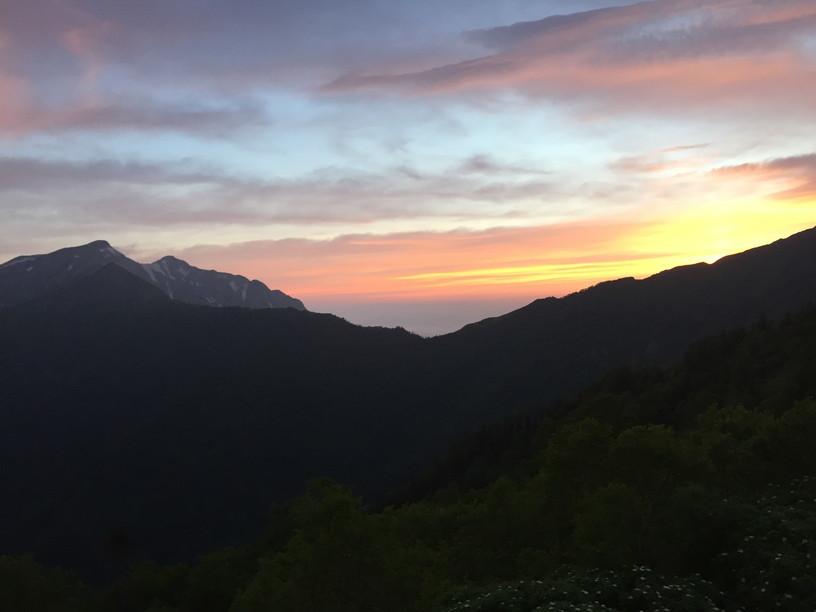 """2019年7月『天空が友達 -北アルプス後立山連峰縦走-』July 2019 \""""On the Skyline, Trekking of North Japan Alps\""""_c0219616_12281421.jpg"""