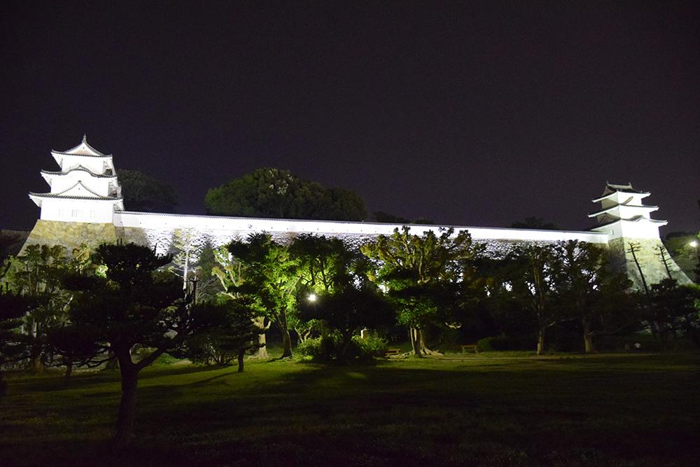 築城400周年の明石城を歩く。 その10 <ライトアップ>_e0158128_14362702.jpg