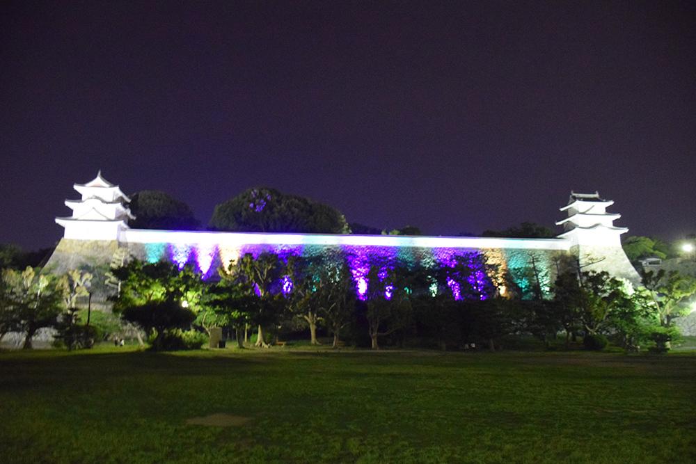 築城400周年の明石城を歩く。 その10 <ライトアップ>_e0158128_14401604.jpg