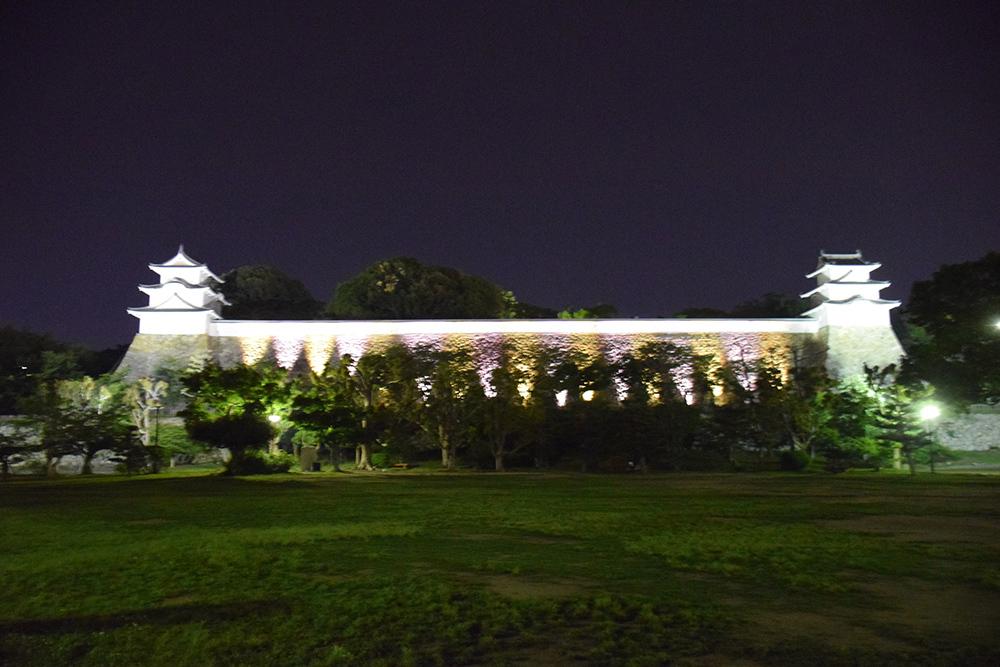 築城400周年の明石城を歩く。 その10 <ライトアップ>_e0158128_14403599.jpg