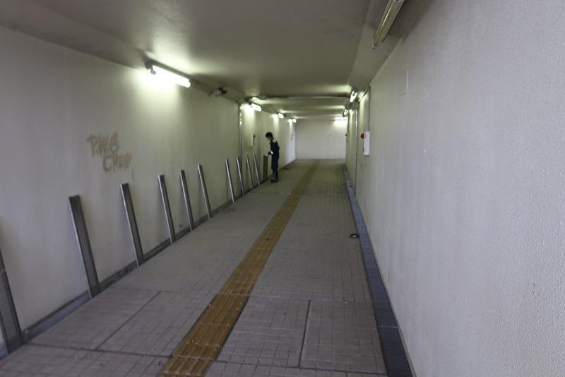 地下道の有効利用_f0076731_15294566.jpg