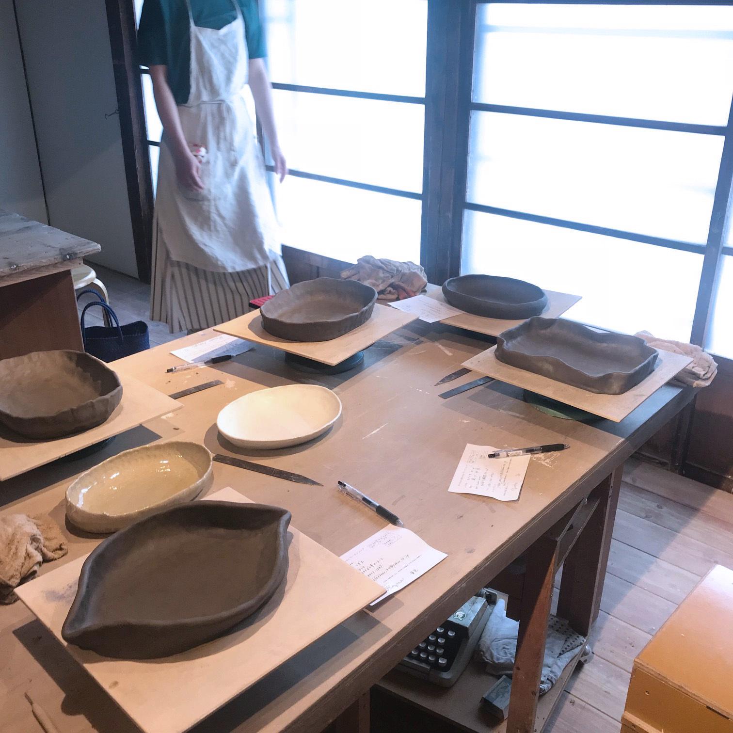 ◆At Home Worksさんの陶芸WSでレモンのお皿_f0251032_16133369.jpg