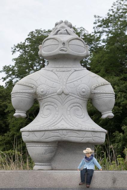 亀ヶ岡遺跡のしゃこちゃんに会いに_e0369736_09390238.jpg