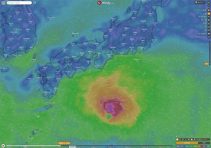 台風8号発生_f0009039_10525737.jpg