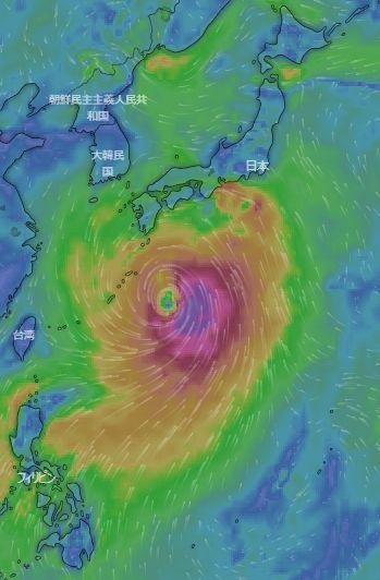 気になる台風 💛 今日のbento♪_c0139375_12491111.jpg