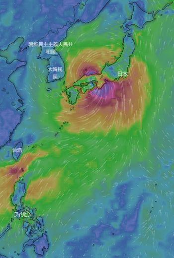 気になる台風 💛 今日のbento♪_c0139375_12492046.jpg