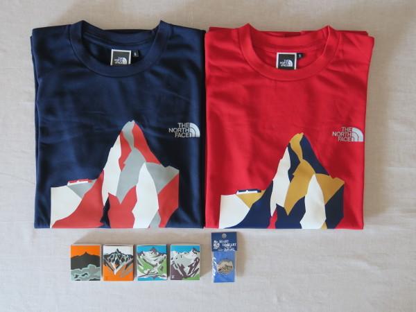 槍ヶ岳山荘ノースコラボTシャツ_e0271890_14580138.jpg