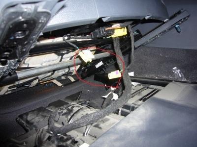 VWトゥアレグ エアバッグランプ点灯 修理_c0267693_12072512.jpg