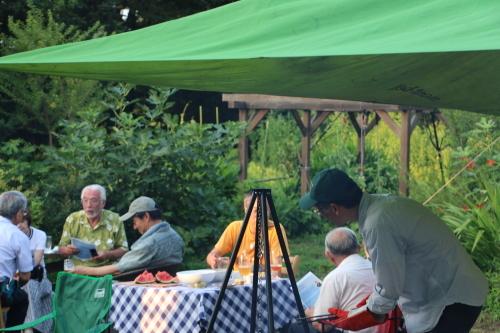 黒田充紀・三佳ご夫妻オーナーのDARAKE農園のビアパーティーに参加_c0075701_20535458.jpg
