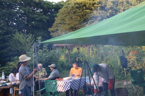 黒田充紀・三佳ご夫妻オーナーのDARAKE農園のビアパーティーに参加_c0075701_20540605.jpg