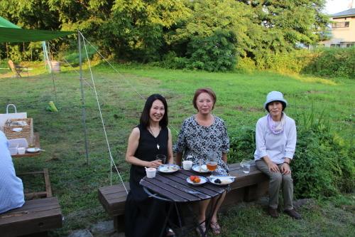 黒田充紀・三佳ご夫妻オーナーのDARAKE農園のビアパーティーに参加_c0075701_20544045.jpg