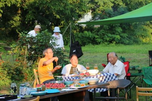 黒田充紀・三佳ご夫妻オーナーのDARAKE農園のビアパーティーに参加_c0075701_20554399.jpg