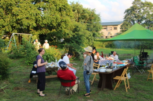 黒田充紀・三佳ご夫妻オーナーのDARAKE農園のビアパーティーに参加_c0075701_20555653.jpg