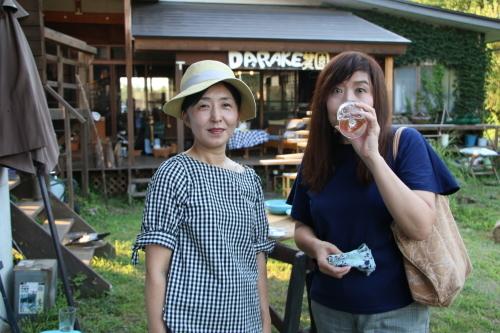 黒田充紀・三佳ご夫妻オーナーのDARAKE農園のビアパーティーに参加_c0075701_20561467.jpg