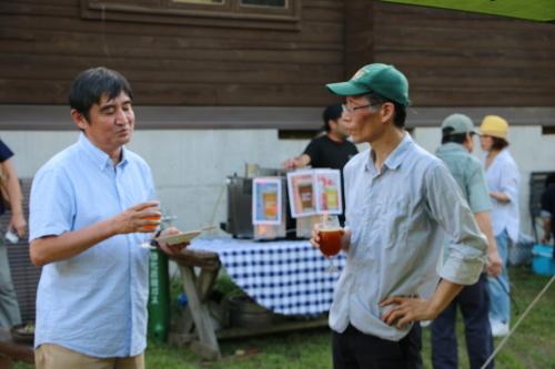黒田充紀・三佳ご夫妻オーナーのDARAKE農園のビアパーティーに参加_c0075701_20575455.jpg