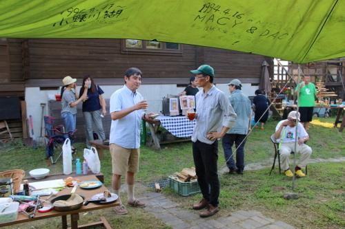 黒田充紀・三佳ご夫妻オーナーのDARAKE農園のビアパーティーに参加_c0075701_20575952.jpg