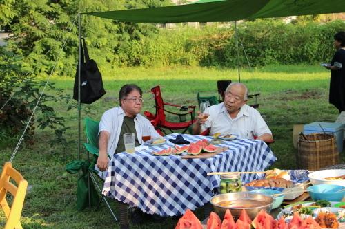 黒田充紀・三佳ご夫妻オーナーのDARAKE農園のビアパーティーに参加_c0075701_20582978.jpg