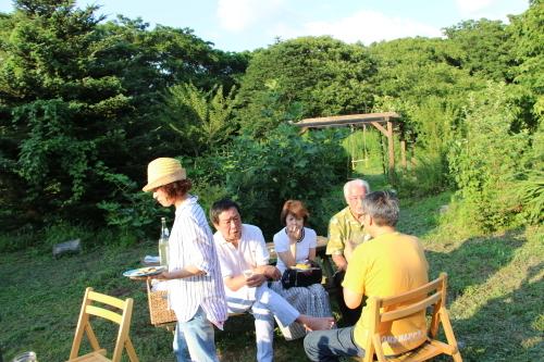 黒田充紀・三佳ご夫妻オーナーのDARAKE農園のビアパーティーに参加_c0075701_20583789.jpg