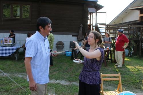 黒田充紀・三佳ご夫妻オーナーのDARAKE農園のビアパーティーに参加_c0075701_20585924.jpg
