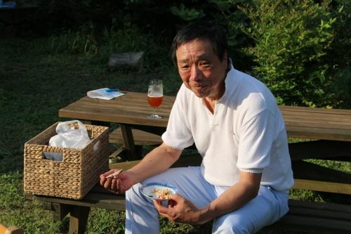 黒田充紀・三佳ご夫妻オーナーのDARAKE農園のビアパーティーに参加_c0075701_20590456.jpg