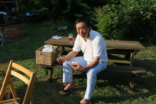 黒田充紀・三佳ご夫妻オーナーのDARAKE農園のビアパーティーに参加_c0075701_20591083.jpg