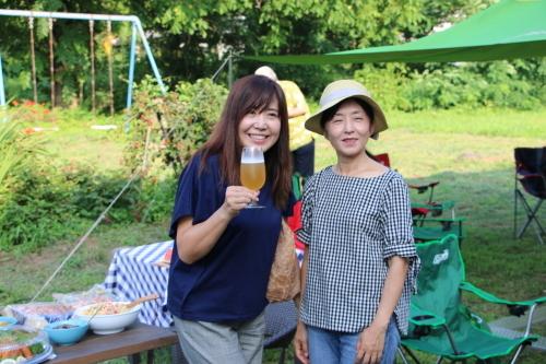 黒田充紀・三佳ご夫妻オーナーのDARAKE農園のビアパーティーに参加_c0075701_21031304.jpg