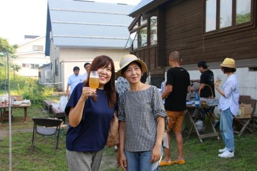 黒田充紀・三佳ご夫妻オーナーのDARAKE農園のビアパーティーに参加_c0075701_21035262.jpg