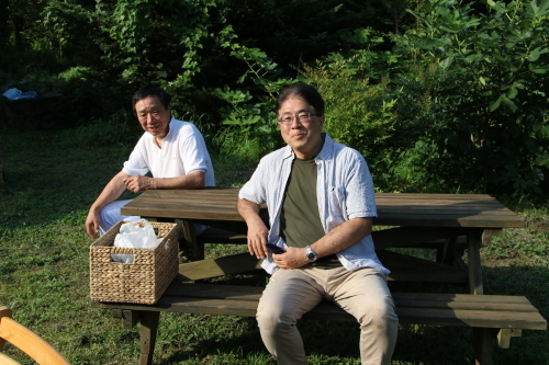 黒田充紀・三佳ご夫妻オーナーのDARAKE農園のビアパーティーに参加_c0075701_21042676.jpg
