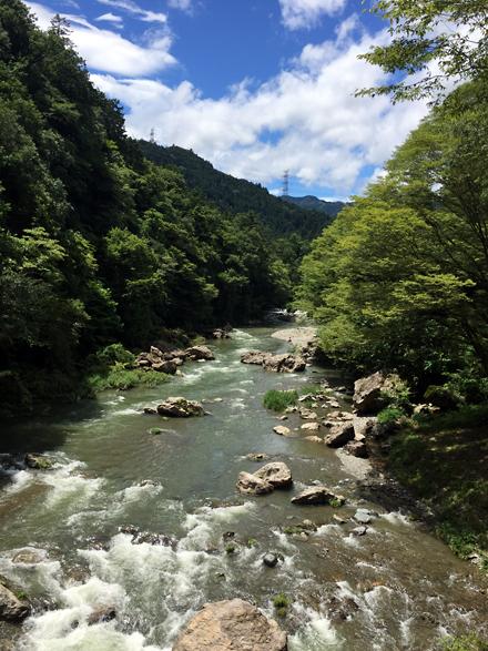 秋川渓谷 水の音でかき氷♪_f0179404_14084702.jpg