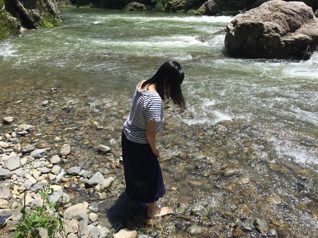 秋川渓谷 水の音でかき氷♪_f0179404_14091257.jpg