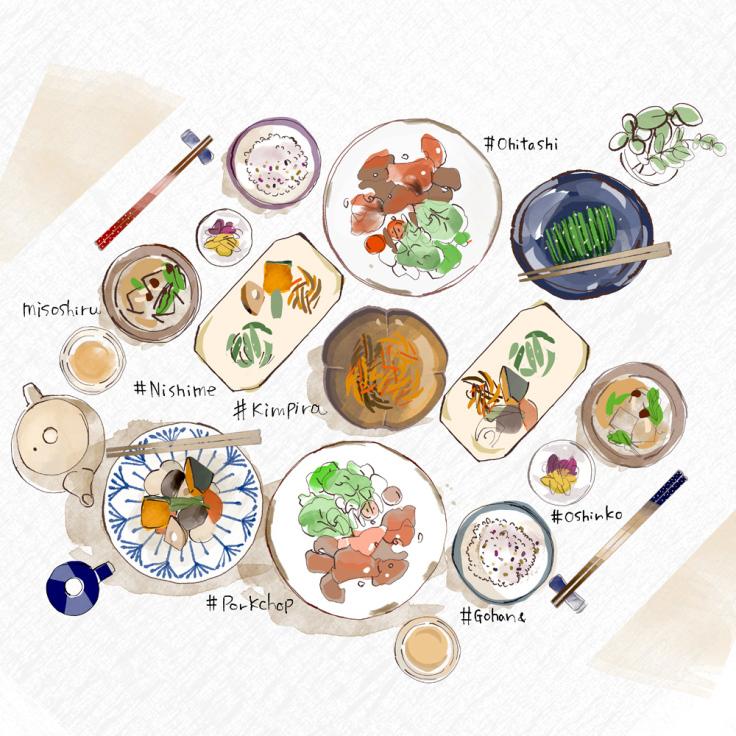 大戸屋さん 大人の食育セミナー2019イラストレーション_f0172313_17311001.jpg
