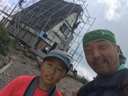 氷ノ山山頂避難小屋改修中!_f0101226_08284335.jpeg