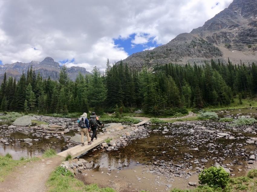 夢をかなえるプライベートハイキング。清水夫妻と行くレイクオハラの旅_d0112928_12013235.jpg