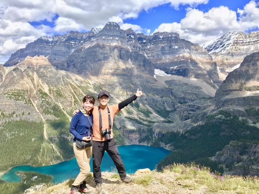 夢をかなえるプライベートハイキング。清水夫妻と行くレイクオハラの旅_d0112928_12014524.jpg