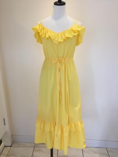 黄色のワンピース_c0223630_17074434.jpg