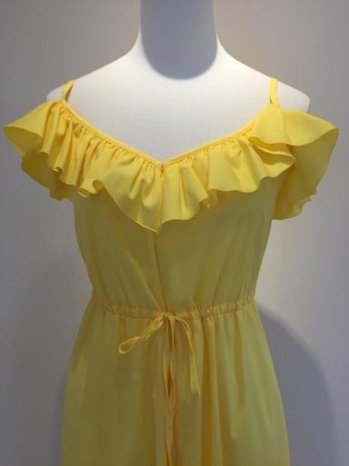 黄色のワンピース_c0223630_17083983.jpg
