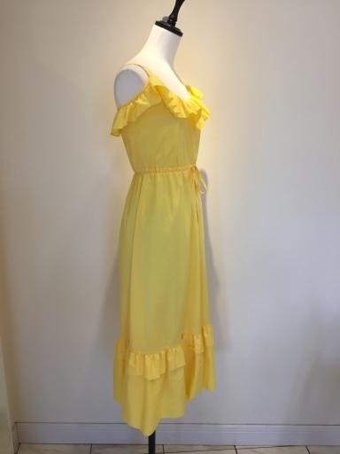 黄色のワンピース_c0223630_17105630.jpg