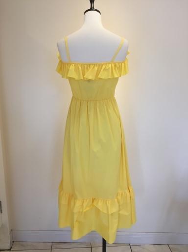黄色のワンピース_c0223630_17124657.jpg