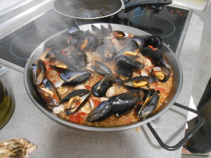 バレンシアで料理する4) 料理人渥美創太とのび丸_a0095931_21570345.jpg