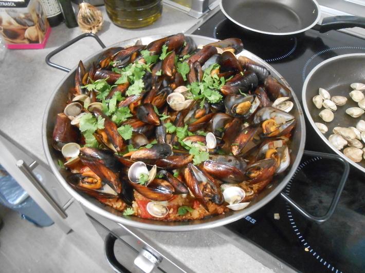 バレンシアで料理する4) 料理人渥美創太とのび丸_a0095931_22055286.jpg