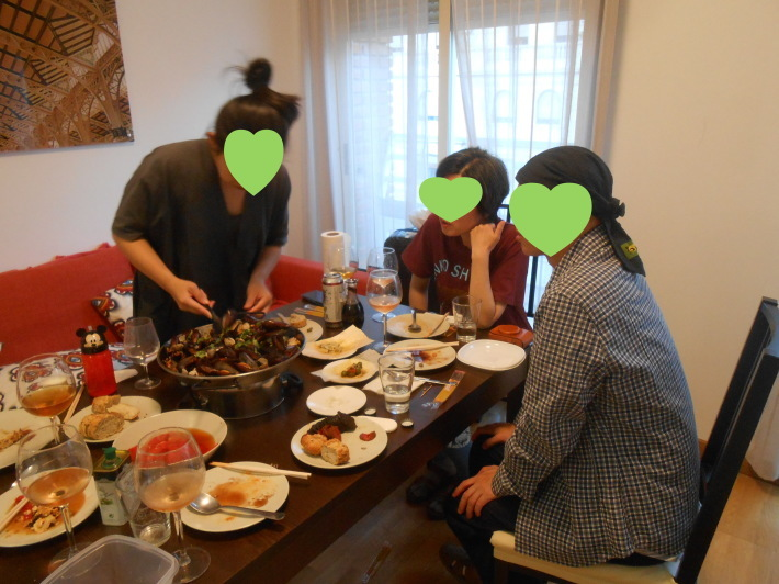 バレンシアで料理する4) 料理人渥美創太とのび丸_a0095931_22093355.jpg