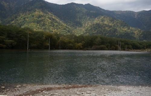 大正池は焼岳の噴火で誕生_f0055131_09105196.jpg