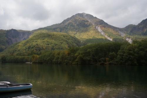 大正池は焼岳の噴火で誕生_f0055131_09110095.jpg