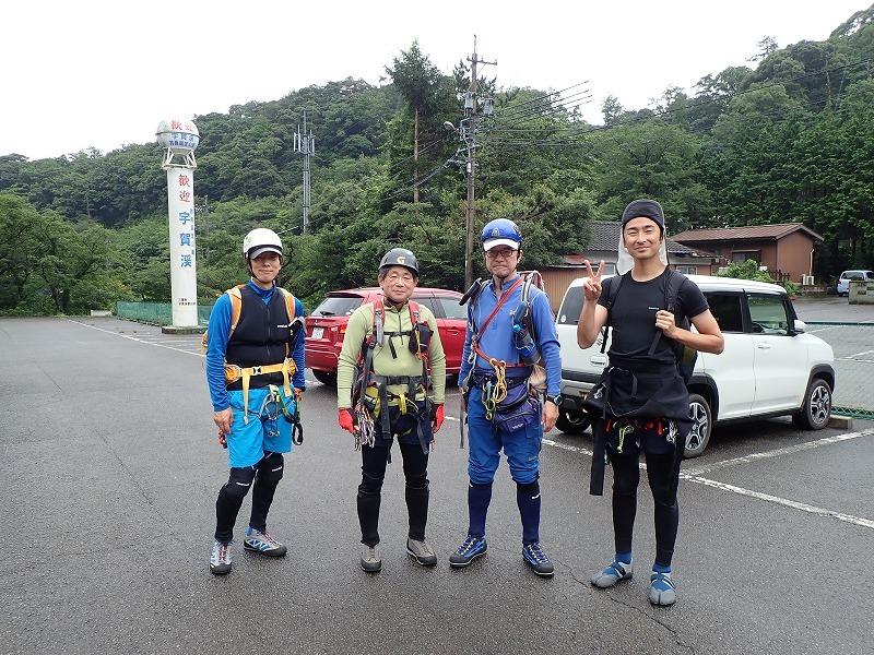 2019/7/20 【鈴鹿】蛇谷 ~ 山行き隊と滝を登る?~_e0403837_15360730.jpg