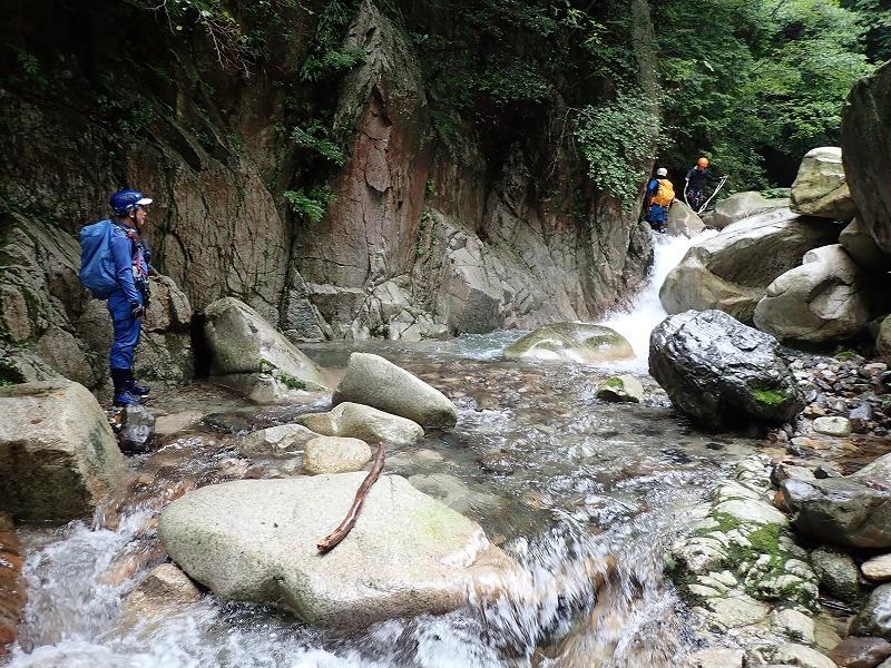 2019/7/20 【鈴鹿】蛇谷 ~ 山行き隊と滝を登る?~_e0403837_15373358.jpg