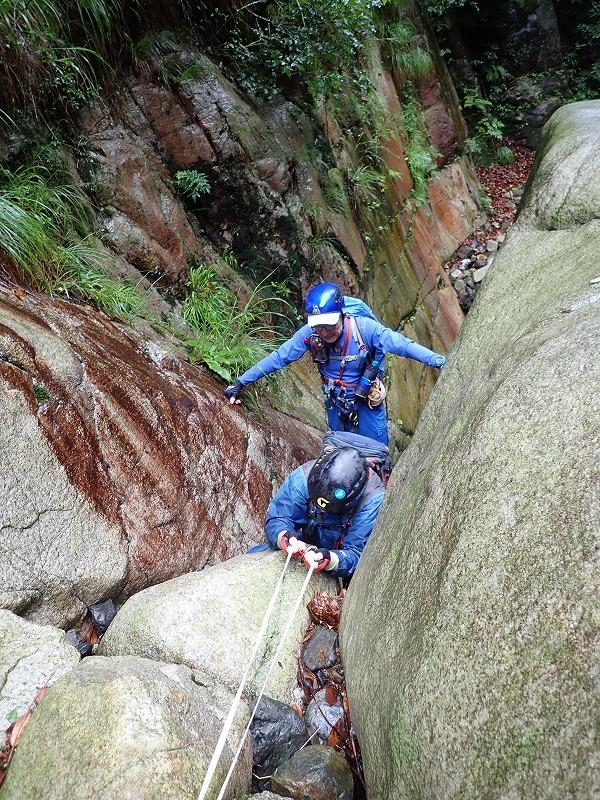 2019/7/20 【鈴鹿】蛇谷 ~ 山行き隊と滝を登る?~_e0403837_15381544.jpg