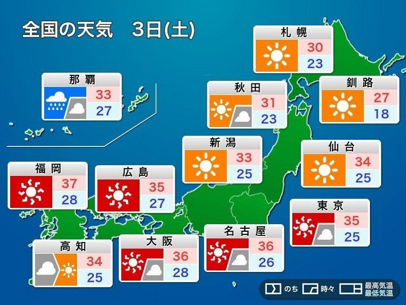 本日も猛暑日予想です!_e0037849_07541568.jpg
