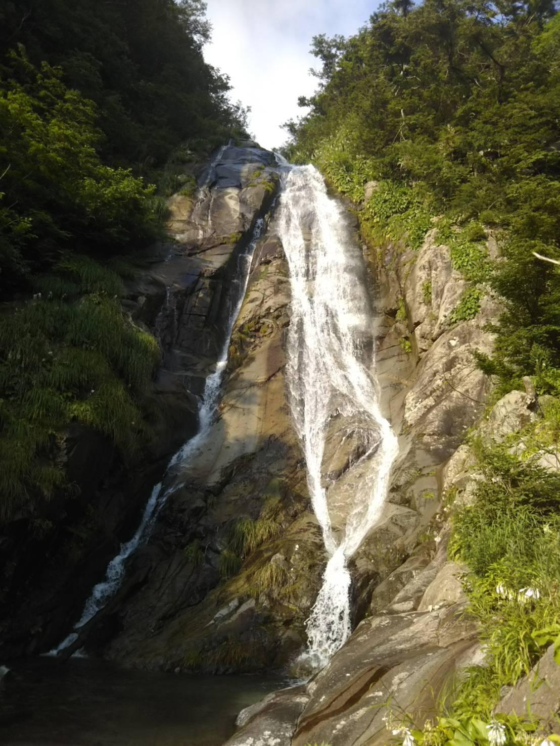 荒島岳 仏御前の滝 沢登り_c0192058_22203418.jpeg