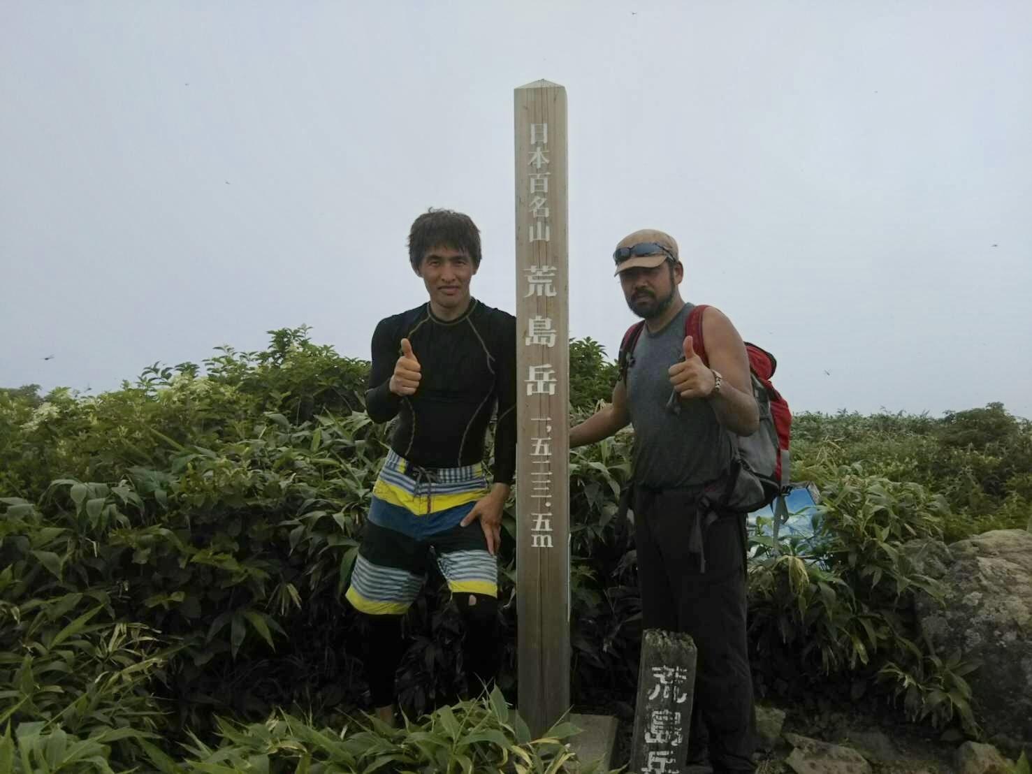 荒島岳 仏御前の滝 沢登り_c0192058_22281180.jpeg