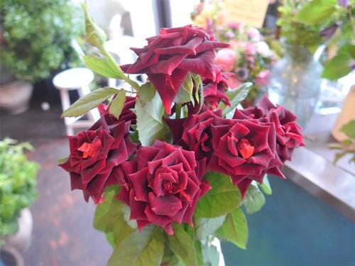 花修行~真っ赤なバラのアレンジメント~_f0232060_20441879.jpg
